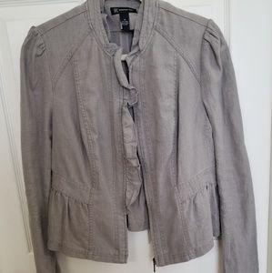 INC Linen Jacket